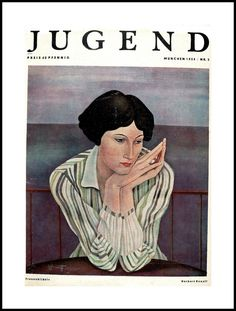 illustration of Jugend Magazine (1934) by unattributed artist (Michael)
