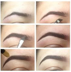 how to get eyebrow hairs to lay flat