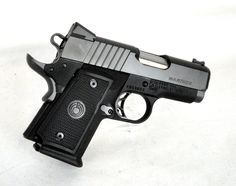 """Para USA Warthog .45 ACP. 96600. The Warthog from Para USA is a compact 1911, similar to their Expert Carry, but with the capacity for two additional rounds. Features a 3"""" stainless steel match grade barrel, 2-dot rear and green fiber optic front sight, stainless steel slide and aluminum frame, beavertail grip safety, skeletonized match grade trigger, black nitride/anodize finish, and polymer grips. 10-round capacity of .45 ACP. 3"""" barrel.[New in Box] $729.99"""