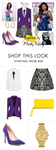 Mindy by aniri310 on Polyvore featuring MANGO, ESCADA, SJP, Tory Burch and Lacoste