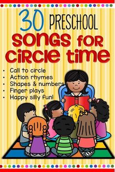 Songs and rhymes for circle time for preschool Pre-K and Kindergarten. Songs and rhymes for circle time for preschool Pre-K and Kindergarten.,kids activities Here is a collection of the words for some songs and. Kindergarten Songs, Preschool Songs, Preschool Learning Activities, Preschool Lessons, Toddler Learning, Preschool Classroom, Songs For Preschoolers, Therapy Activities, Preschool Music Activities