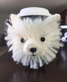 Pomeranian Mug Cozy Dog Cozy Coffee Sleeve by HookedbyAngel