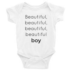 Beautiful Boy Bodysuit