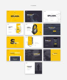 Buy Splash UI Kit for Sketch by nickparkerdesign on ThemeForest. Splash UI Kit Splash brings you the complete, fresh and high polished UI Kit for your creative landing pages. Keynote Design, Design Ppt, Powerpoint Design Templates, Slide Design, Brochure Design, Layout Design, Branding Design, Dashboard Design, Keynote Presentation