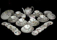 Krautheim Wiesengrund und Bergeshöh´n große Kaffee/Teeservice f.7 Person 46 Tlg.   eBay