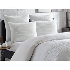Image 3 of 6 Twin Comforter Sets, Duvet Sets, Duvet Cover Sets, White Duvet, Luxury Bedding Collections, City Scene, Bed Styling, 1 Piece, Home