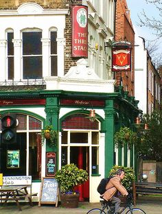 The Three Stags Pub, Kennington Road, Lambeth, London
