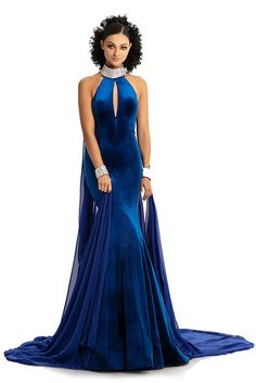 a4344c88d87f2 Johnathan Kayne 9046 The fabric in this Johnathan Kayne Collection style is  Chiffon, Glitter Stretch Velvet