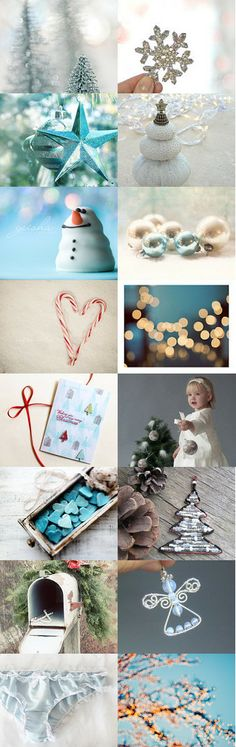 Christmas in ... blue by Katerina on Etsy--Pinned with TreasuryPin.com