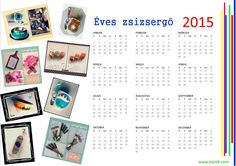 2015-ös éves zsizsergő :) November, Crafts, January, November Born, Manualidades, Handmade Crafts, Craft, Crafting