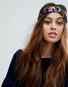 Liars & Lovers Wide Sequin Headband