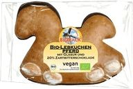 The Juicy Organic Gingerbread Horse in Dark Chocolate with Glaze by Rosmarin BioBack is delicious organic vegan gingerbread for young and old. This classic for Christmas must not be missing on any coffee table! Aromatic, juicy gingerbread dough and a base of dark chocolate – with this traditional candy Christmas may come! Gingerbread Dough, Vegan Gingerbread, Christmas Candy, Christmas Treats, Marzipan, Glaze, Horse, Organic, Traditional
