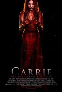 Carrie on DVD January 2014 starring Chloë Grace Moretz, Julianne Moore, Gabriella Wilde, Judy Greer. A reimagining of the classic horror tale about Carrie White (Chloë Grace Moretz), a shy girl outcast by her peers and sheltered by her deep Scary Movies, Hd Movies, Movies Online, Movies And Tv Shows, Movie Tv, Movies 2014, Carrie Movie 2013, Carrie Horror Movie, Horror Movie Posters