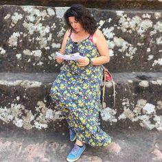 vakantie outfit, grote maten, maxidress Paprika, wondervol