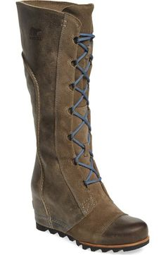 SOREL 'Cate the Great' Waterproof Wedge Boot (Women) available at #Nordstrom
