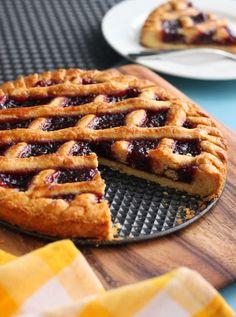 Scientifically Sweet: Italian Raspberry Crostata (Crostata Marmellata)