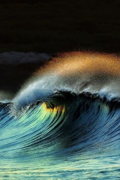The black waves
