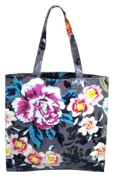 21749e71d14 Ted Baker Ted Icon Floral Tote Bag. Get one of the hottest styles of the.  Tradesy