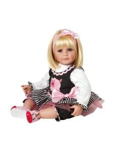 "Charisma Dolls Adora ""Oink"" Doll with Light Blond Hair Blue Eyes Sandy Blonde Hair, Light Blonde Hair, Blonde Hair Blue Eyes, Toddler Dolls, Child Doll, Girl Dolls, Baby Dolls, Girl Toddler, Beautiful Blue Eyes"