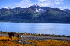 Take in the Alaskan scenery.