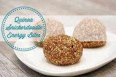 Quinoa Snickerdoodle Energy Bites