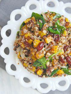 roasted butternut squash and quinoa salad 3