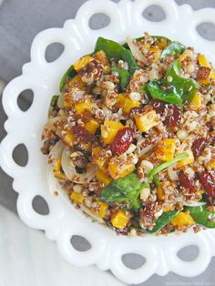 Warm Roasted Butternut Squash and Quinoa Salad - The Kitchen McCabe