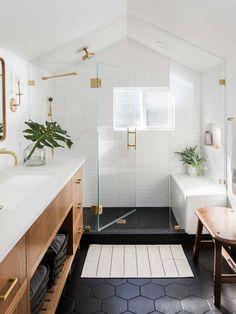 Bad Inspiration, Bathroom Inspiration, Bathroom Inspo, Relaxing Bathroom, Bathroom Renos, Bathroom Flooring, Remodel Bathroom, Bathroom Vanities, Bathroom Plumbing