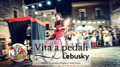 Vita a pedali clown and circus - Artisti di strada puglia e sud Italia