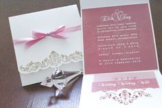 Pink Invitation Card