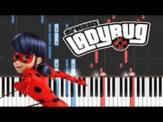 MIRACULOUS LADYBUG - Theme Song // Synthesia Piano Tutorial - YouTube