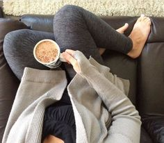 - Alanna looking so cozy! Love these leggings on you! Comfortable Outfits, Cozy, Leggings, Casual, Clothes, Fall, Fashion, Cozy Outfits, Outfits