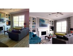 Can you guess what's different about these two photos of the same living room? See our new blog post!