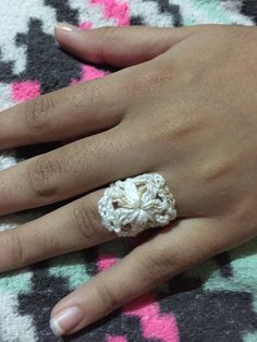Wedding Rings, Engagement Rings, Jewelry, Crochet Rings, Rings For Engagement, Jewlery, Jewels, Commitment Rings, Anillo De Compromiso