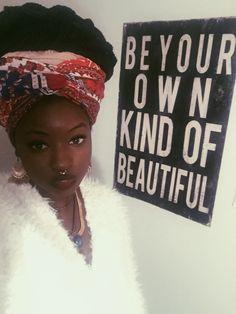 Rasta Style Flower Child - ilovedarkskinboys:   Always be yourself babygirl....