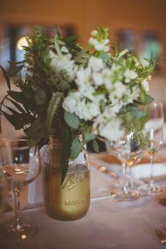 Connecticut Rustic Wedding Jar IdeasParty