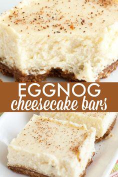 Eggnog Cheesecake Ba