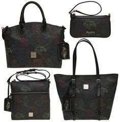 Dooney and Bourke Food and Wine Festival Purses Still Available! - Dooney and Bourke is known to make different designed purses for Disney for different occasions, along with their everyday patterns that are carri. Dooney And Bourke Disney, Disney Dooney, Dooney Bourke, Wine Purse, Disney Handbags, Wine Festival, Festival Bags, Disney Style, Disney Theme