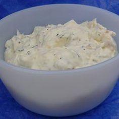 tastycookery | Garlic and Herb Cream Cheese