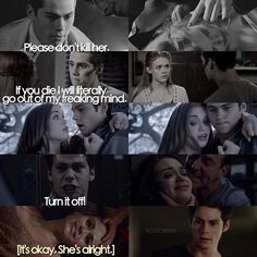 Stiles caring for Lydia season 1-5 #LydiaMartin #StilesStilinski #TeenWolf