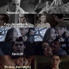 Stiles caring for Lydia season 1-5 #LydiaMartin #StilesStilinski #TeenWolf