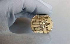 壁紙をダウンロードする 記念貨幣, 五uah, shchedryk, hryvnia