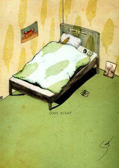 一張床鋪好讓我做好夢