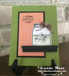 Jar Of Haunts Swap Card :: Bluegrass Stamper