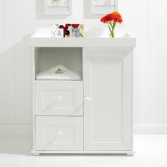Your East Coast Hanworth Dresser White From Kiddicare Bath And Changing Units Online Baby
