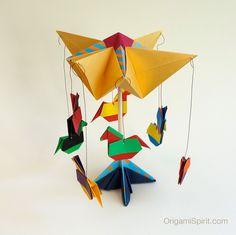 carrusel, hecho por Leyla Torres. ¡Magnífico!