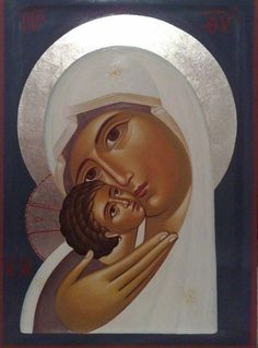 The Still Point — Most Beautiful Theotokos and Christ Child (via. Religious Images, Religious Icons, Religious Art, Greek Icons, Images Of Mary, Russian Icons, Blessed Mother Mary, Byzantine Icons, Holy Mary