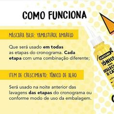 CRONOGRAMA CAPILAR CRESCIMENTO