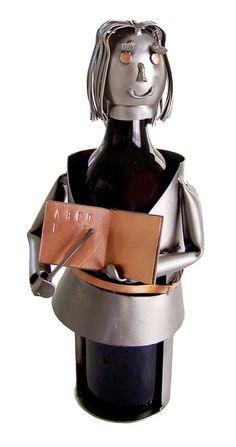 Teacher Female 1 Bottle Tabletop Wine Rack