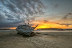 "Cara Na Mara ""Bad Eddie"" Shipwreck - Donegal by Gareth Wray Photography"